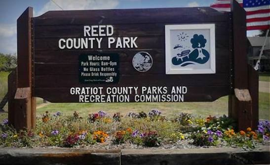 Reed Park Sign
